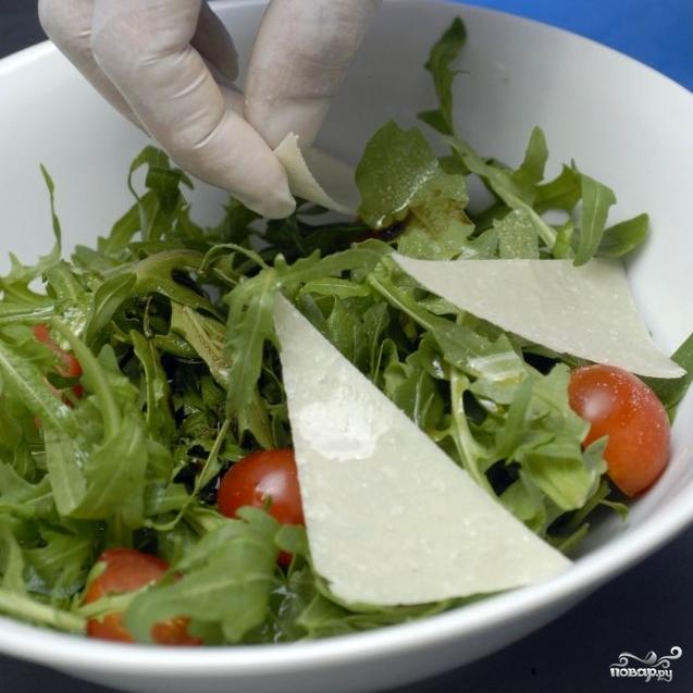 """Салат с креветками """"Вкусный"""" - фото шаг 7"""