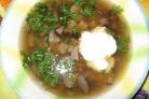 Суп из грибов подберезовиков