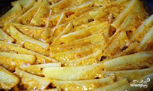Картофель айдахо - фото шаг 9