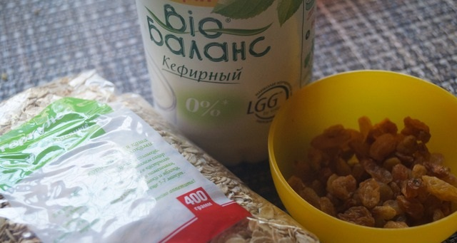 Рецепт Овсяное печенье на кефире