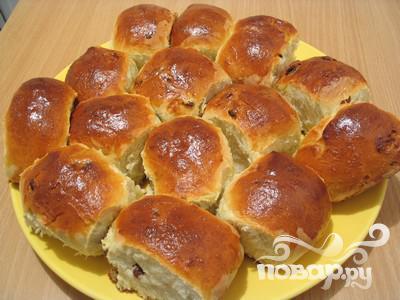 Пироги с изюмом