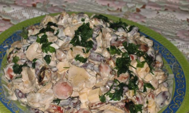 Салат из сосисок - фото шаг 5