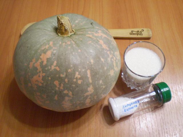 Рецепт Варенье из тыквы в мультиварке