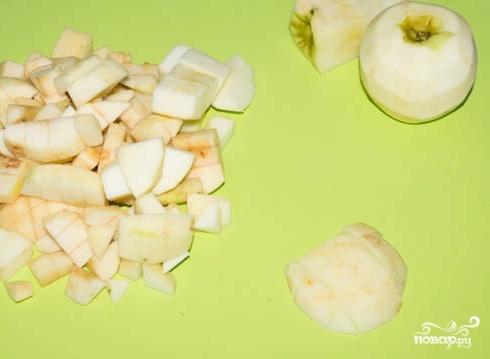 Яблочная начинка для блинов - фото шаг 1