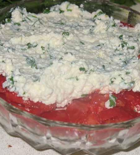 Салат из кабачков и помидоров - фото шаг 5