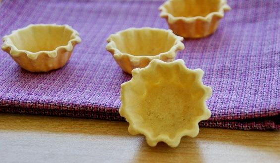 Тарталетки с сырной начинкой - фото шаг 2