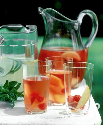 Рецепт Пунш с розовым вином