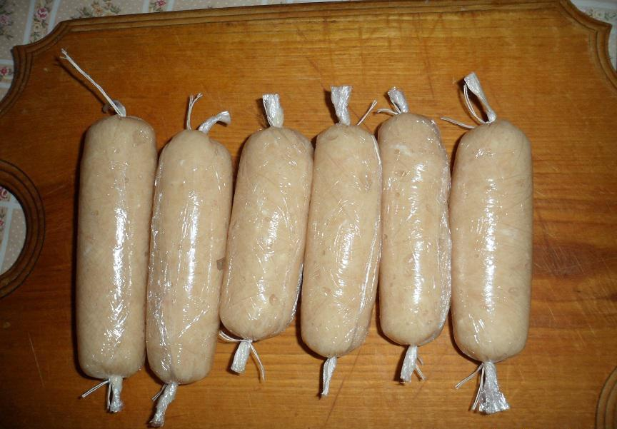 Домашние сосиски - фото шаг 4