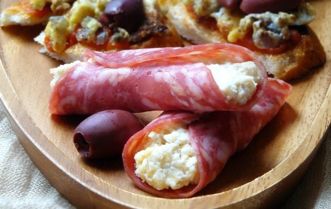Маленькие испанские бутерброды - фото шаг 3