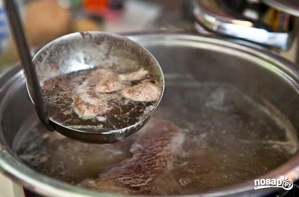 Борщ со свининой - фото шаг 1