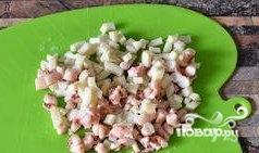 Салат из осьминогов и кальмаров - фото шаг 1