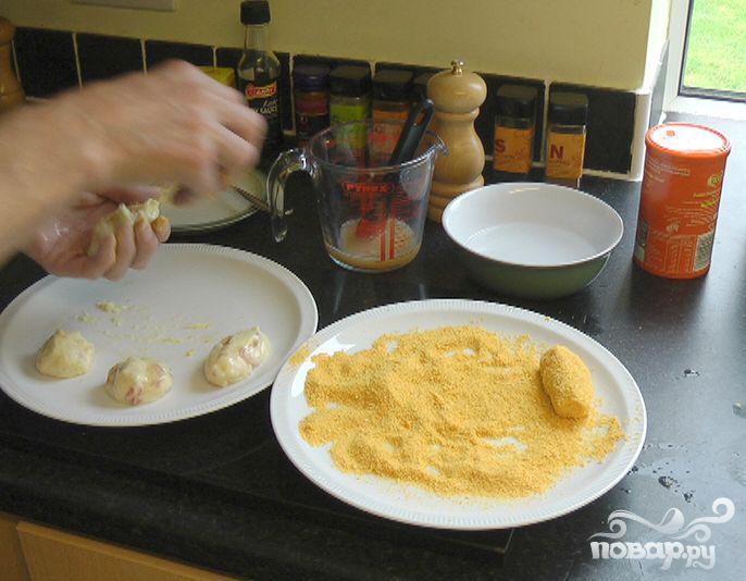 Картофельные тапас  - фото шаг 5
