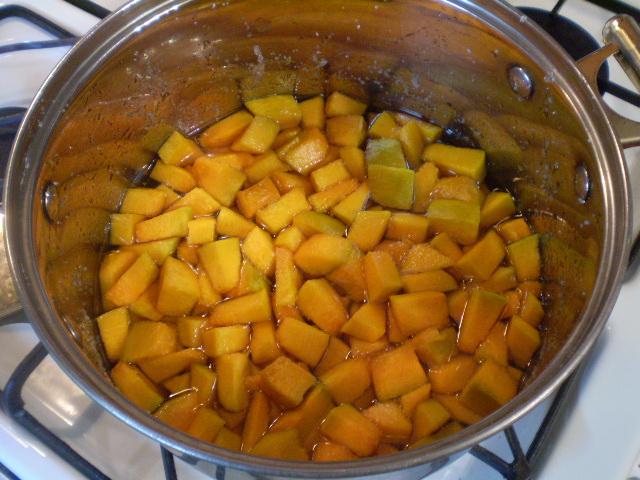 Варенье из тыквы с апельсином и лимоном - фото шаг 7