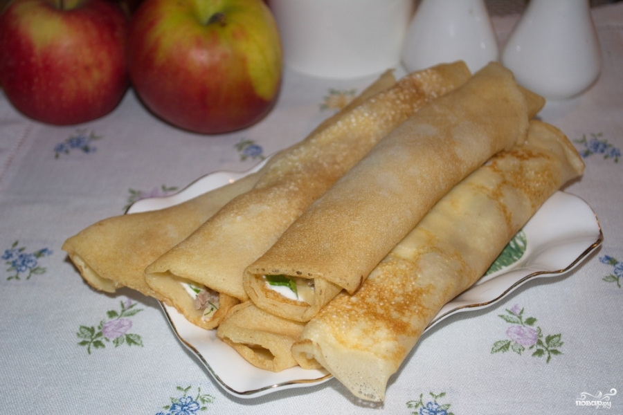 Закуска с блинами - фото шаг 9