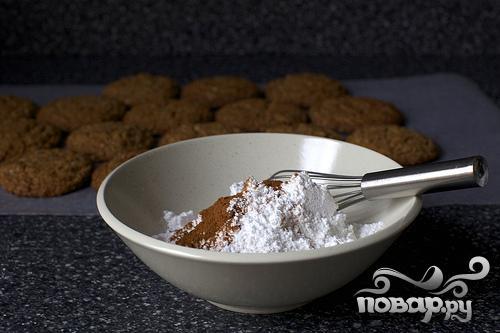 Овсяное печенье с глазурью - фото шаг 4