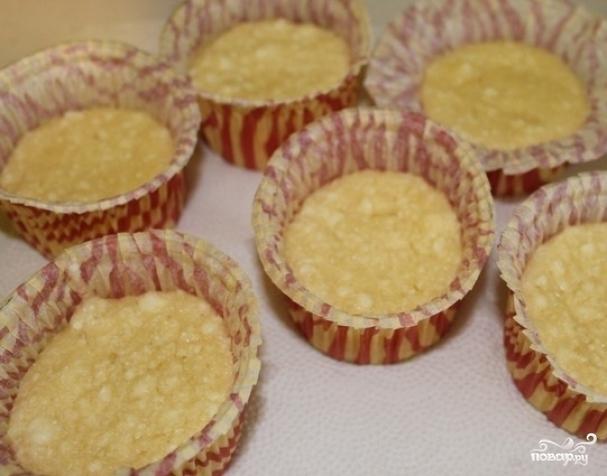 Кексы в формочках с творогомы с фото пошагово