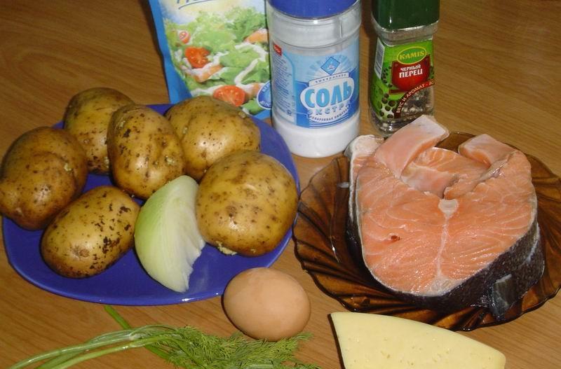 Рецепт Рыба по-русски запеченная