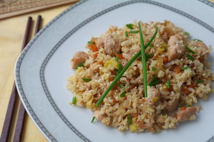 Чесночный рис  - фото шаг 8