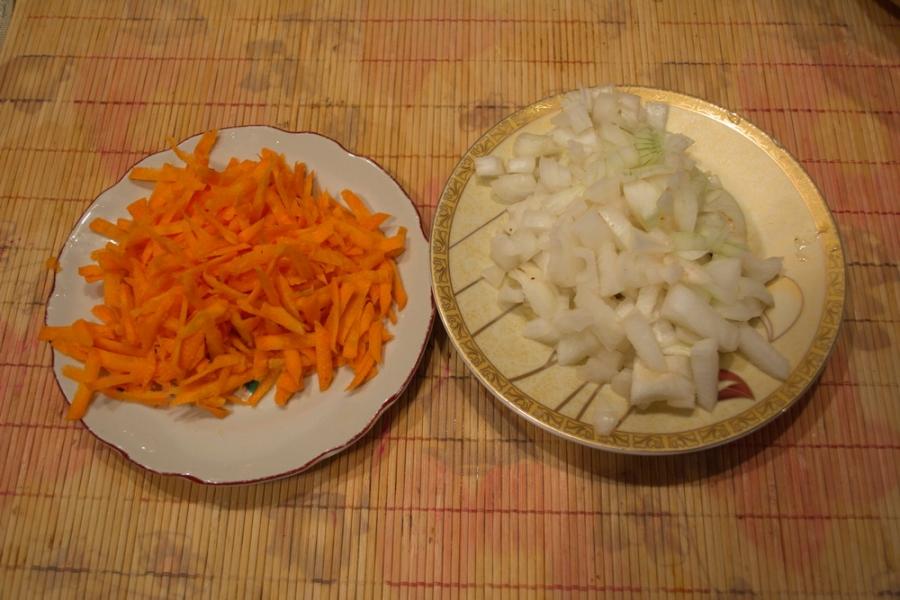 Рецепт Гороховый суп с охотничими колбасками