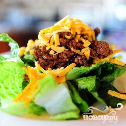 """Салат """"Чизбургер"""" - фото шаг 5"""