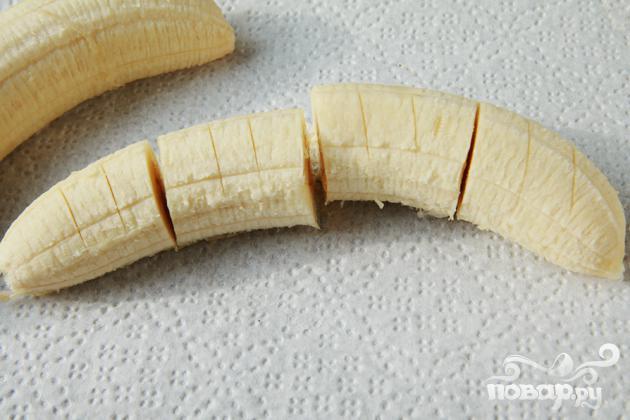 Треугольнички с Нутеллой и бананами - фото шаг 1