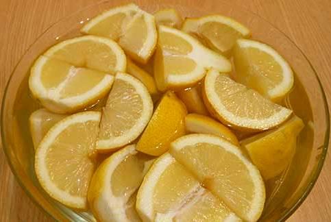 Рецепт Варенье из лимонов с кожурой