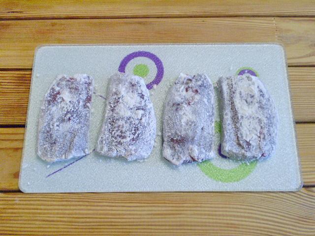 Говяжья печень жареная - фото шаг 3