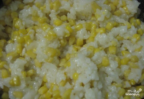 Рис с кукурузой - фото шаг 3