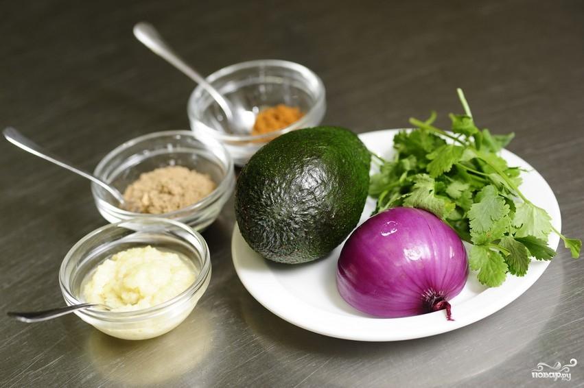 Рецепт Простой салат из авокадо
