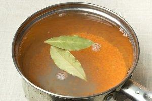 Вегетарианский суп-пюре из чечевицы - фото шаг 2