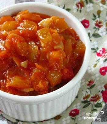 Рецепт Кабачковая икра в пароварке