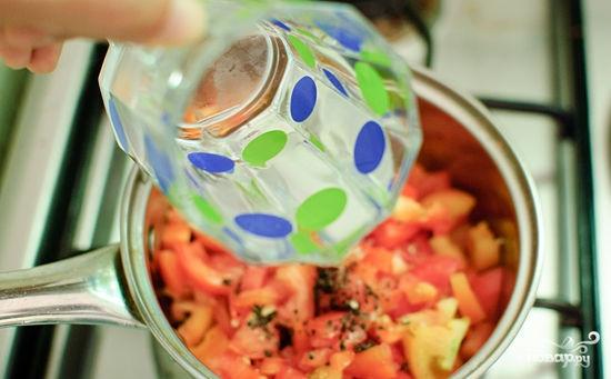 Спагетти с помидорами и чесноком - фото шаг 6