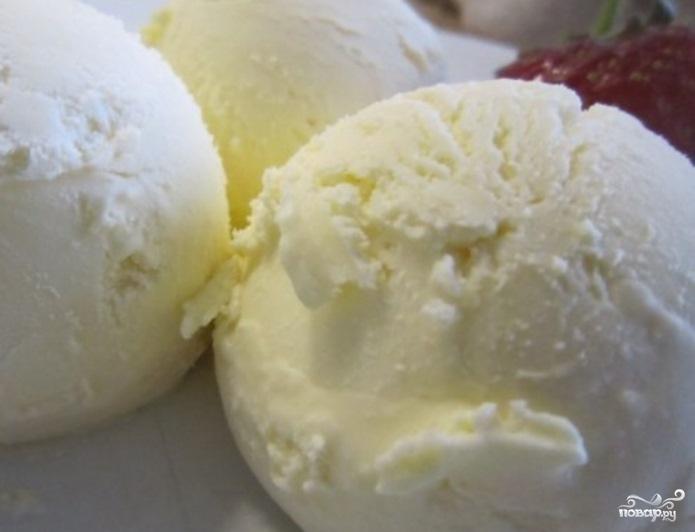 Домашнее мороженое из молока