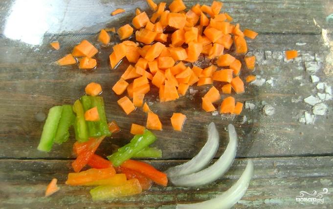 Детский суп с фрикадельками - фото шаг 1