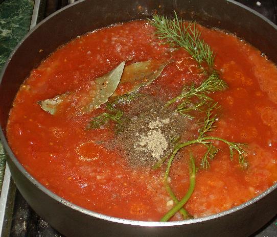Тефтели с помидорами - фото шаг 2