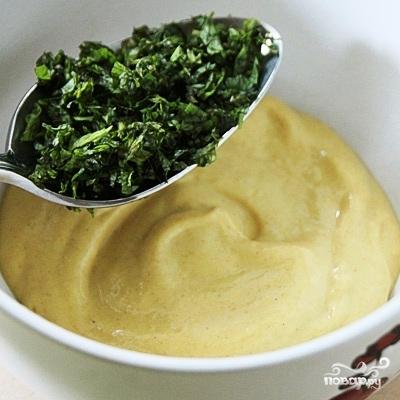 Мятно-горчичный соус - фото шаг 2