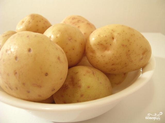 Рецепт Картофель в казане