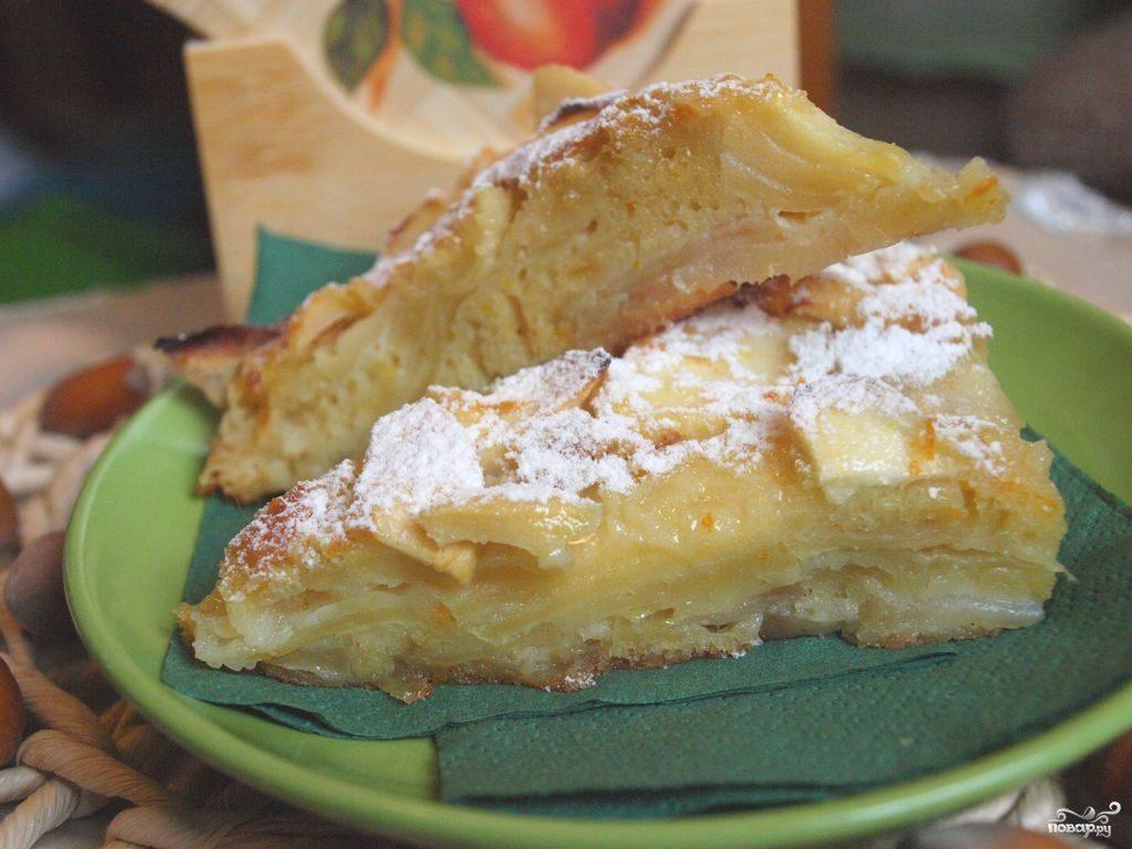рецепт шарлотки с ананасами в духовке