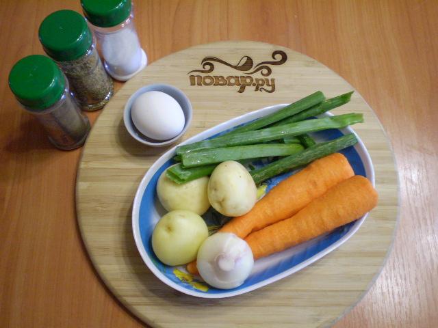 Летний суп из моркови - фото шаг 1