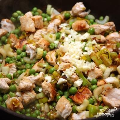 Коричневый рис с индейкой и овощами - фото шаг 4