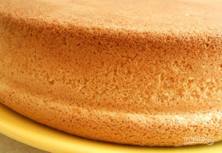 Высокий бисквит рецепт пошагово 38