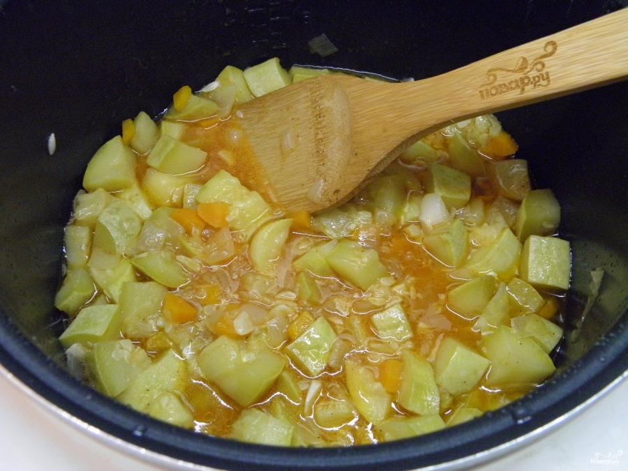 Кабачковая икра с морковкой и луком - фото шаг 4