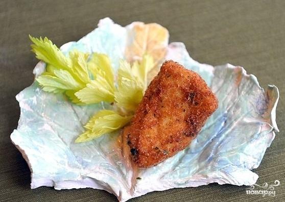 Сыр, жареный в панировке - фото шаг 10