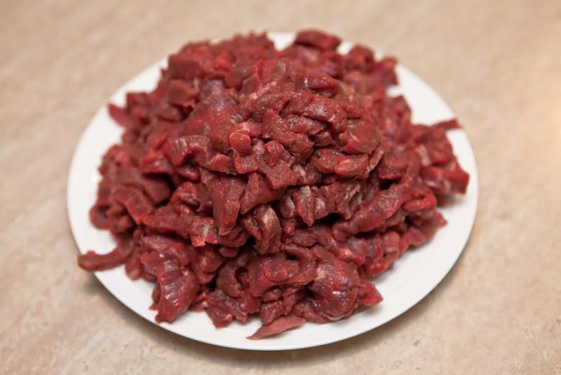 Классический бефстроганов из говядины
