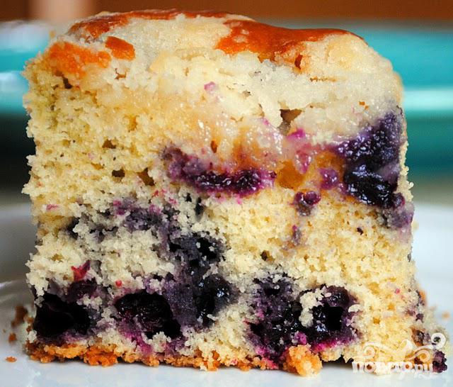 Черничный пирог с мускатом - фото шаг 5