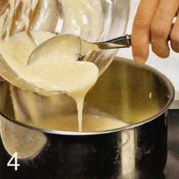 Персиковое пюре с заварным кремом - фото шаг 4