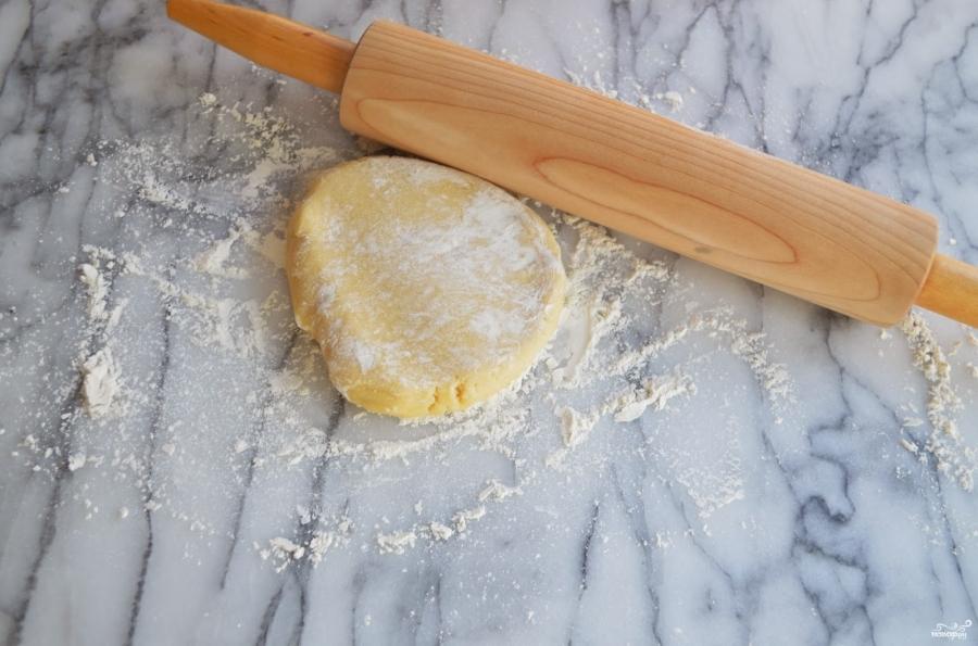 Печенье в виде сердечек - фото шаг 4