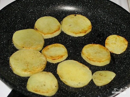 Картошка с баклажанами - фото шаг 5