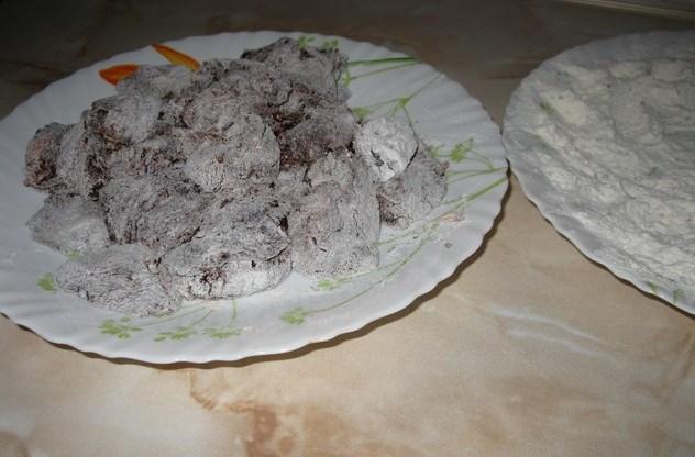 Печень говяжья, тушенная в сметане - фото шаг 5