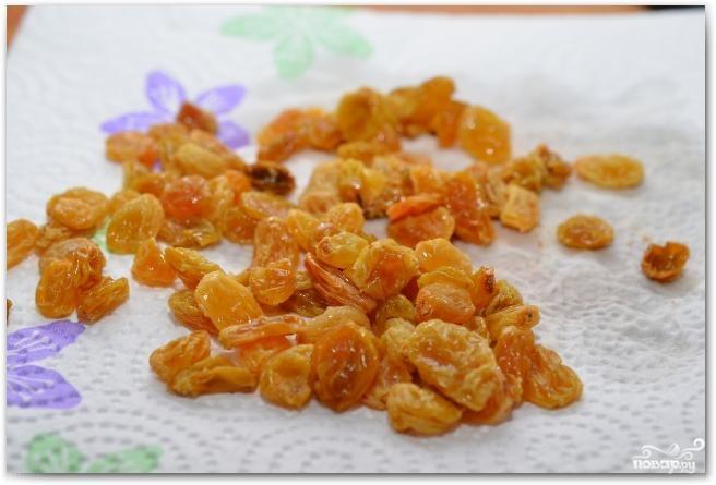 Салат из шпината, изюма и кедровых орешков - фото шаг 7
